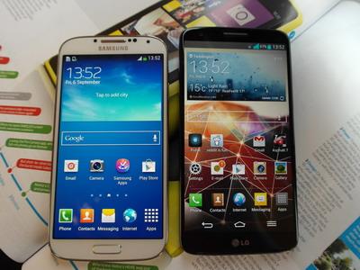 masih diminati serta dianggap layak untuk dibesutani hingga dikala ini Pilih Samsung Galaxy S4 atau LG G2 untuk Dibeli Tahun 2016?